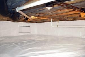 Crawl Space Repair After in Sparks