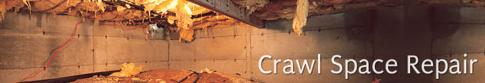 Crawl Space Repair in NV and CA, including Carson City, Sun Valley & Reno.