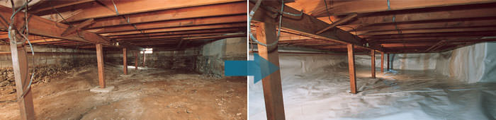 Crawl Space Barrier By Reno Sparks Sun Valley